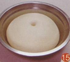 孔洞立即回缩就成了基本发酵面团了