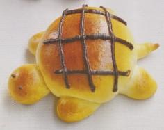 小乌龟红豆面包
