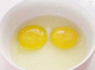 蛋黄和蛋清