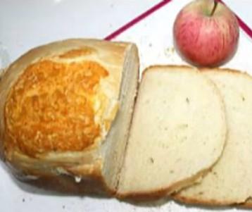 制作苹果LOGO面包