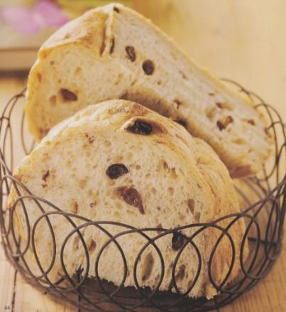DIY葡萄干酵种面包