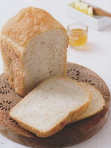 简易白面包
