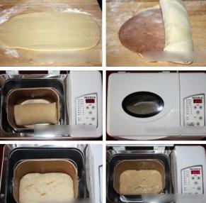 柏翠PE6300儿童面包机做北海道土司最后一个步骤