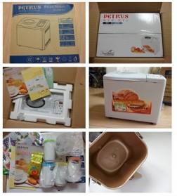 儿童面包机开箱图