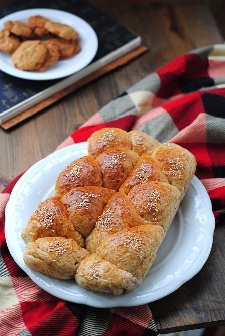 麸皮面包效果图