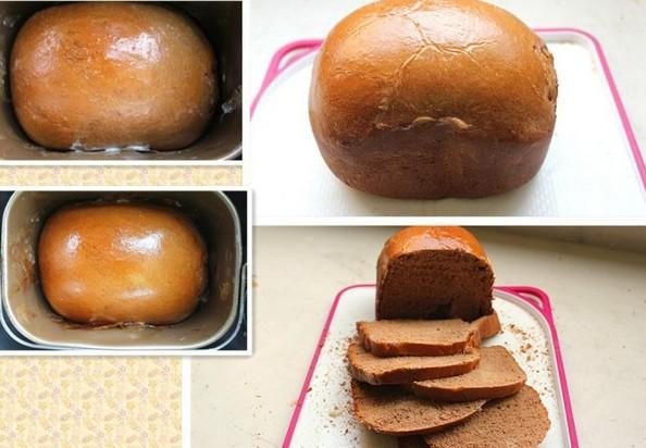 日本风味巧克力和风面包制作步骤2