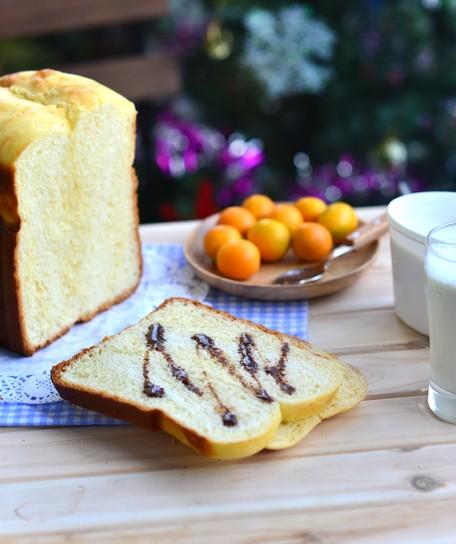 柏翠PE8800SUG面包机做全蛋吐司的方法