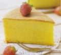 金黄诱人的黄金海绵蛋糕