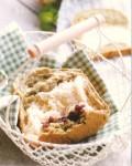 柏翠面包机制作抹茶红豆吐司